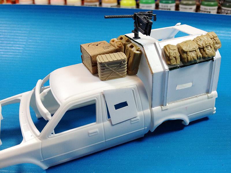 Baubericht Zombie Pickup mit Diorama 1 Start
