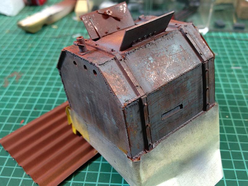 Baubericht Zombie Pickup mit Diorama 4 Boxes