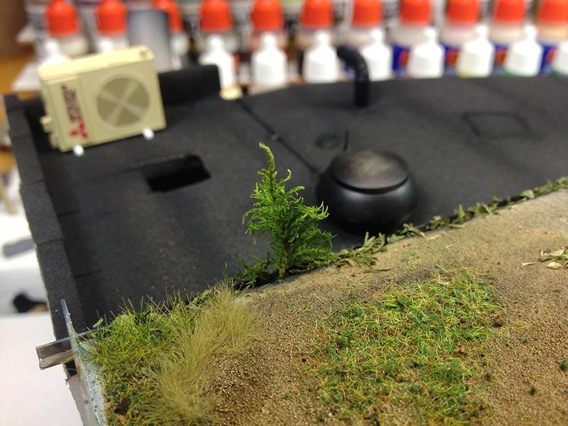 Baubericht Zombie Pickup mit Diorama 8 roof