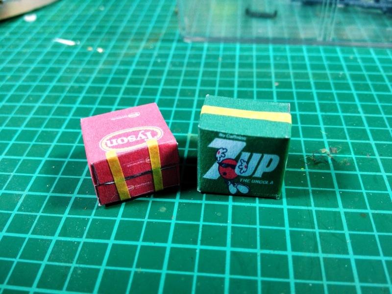 Baubericht Zombie Pickup mit Diorama 6 Package
