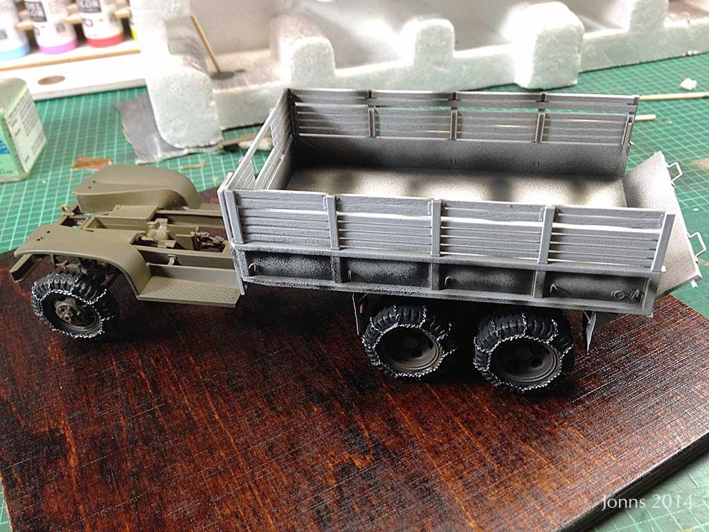 Baubericht GMC 2,5t 6x6 mit Piper 4-L Grasshopper 2