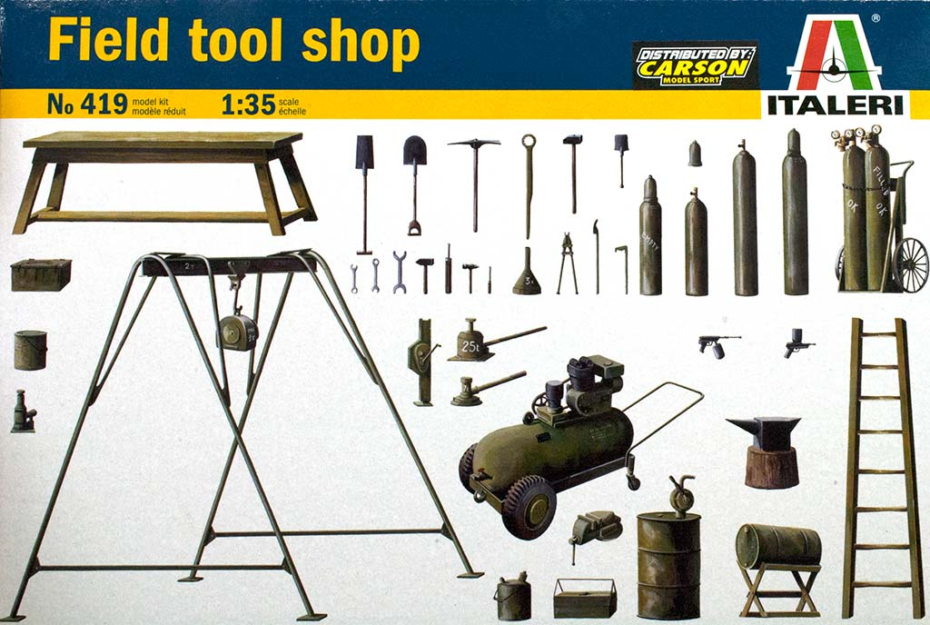 Field tools shop
