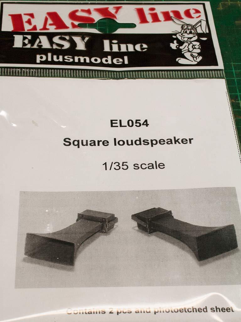 Lautsprecher, Square loudspeaker  1:35
