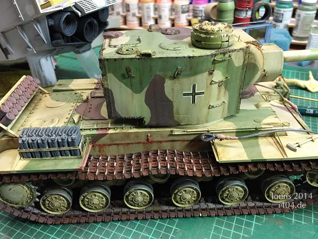 KV-2 weathering