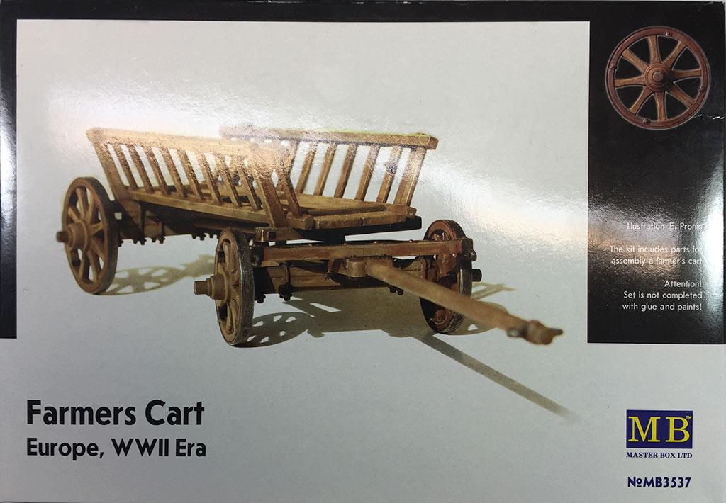 Farmers cart, Europe, 1:35