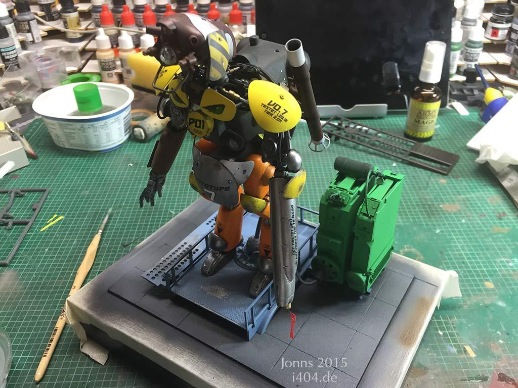 "MaK ""Großer Hund"" Prototyp 7, 1:20"