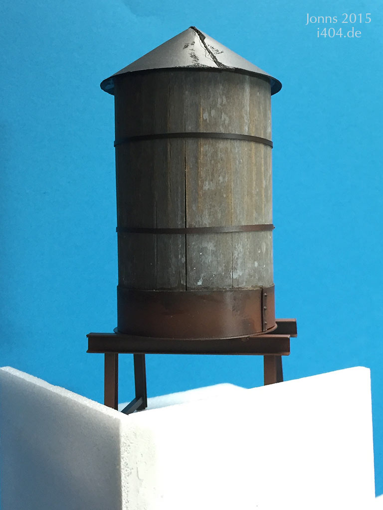 Airship 1:35 Diorama/Wassertank
