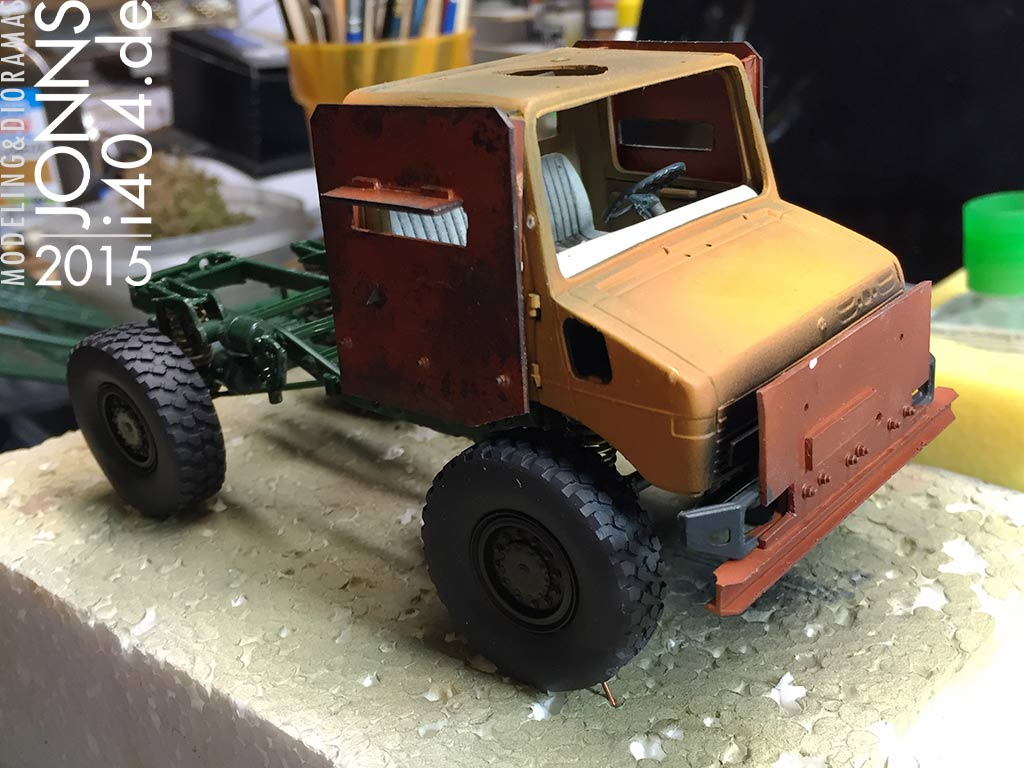 Post Apocalyptic Unimog scratch 1:35