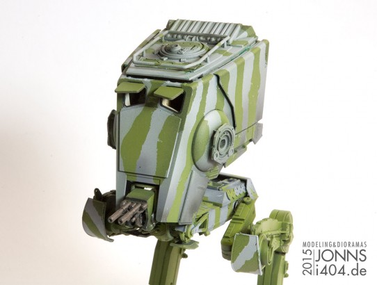 Star Wars AT-ST im Bau