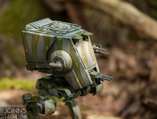 Bilder Bandai AT-ST 1:48 jungle camo