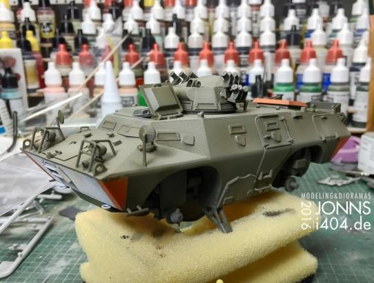 im Bau: what if Prototyp M706P schwebe Panzer, 1:35