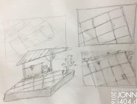 Idea: Scrap yard 1:35, Takom's T3 Bus & Feldumschlaggerät