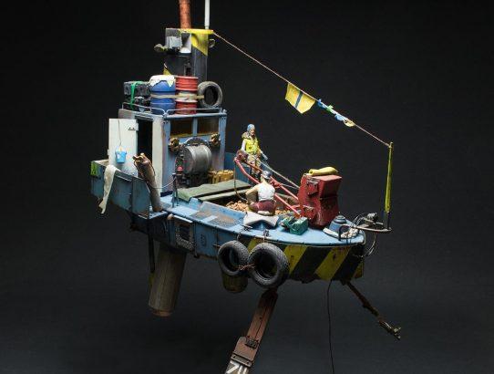 Neue Bilder vom Spud tug Airship